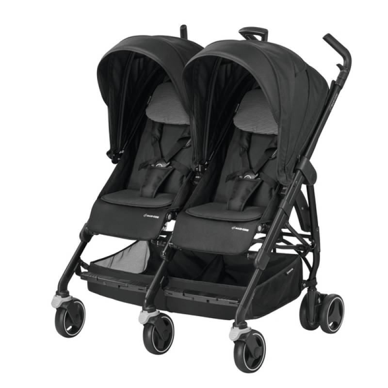 Maxi-Cosi Dana For 2 - Pushchair | Black Raven