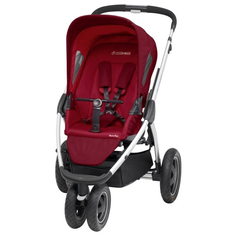 Maxi-Cosi Mura Plus 3 Pushchair | Raspberry Red (2014)