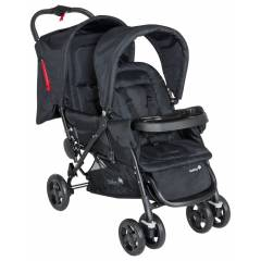 Safety First Duo - Deal Tandem - Full Black