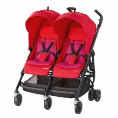 Maxi-Cosi Dana For 2 - Pushchair | Red Orchid