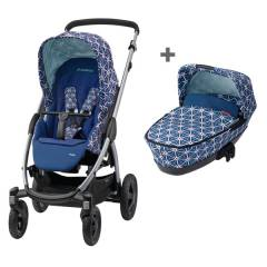 Maxi-cosi Travelsystem 2-in-1 Stella - Blue Star