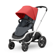 Quinny Hubb - pushchair | Red On Graphite