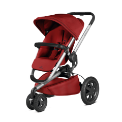 Quinny Buzz 3 Xtra - pushchair | Silver Frame - Red Rumour